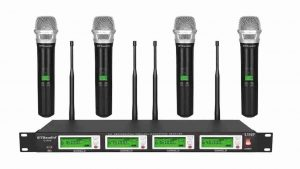 Audio Wireless Microphone System