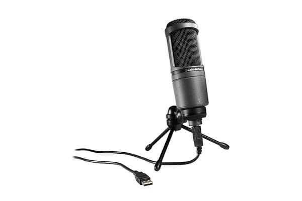 Audio Technica condenser microphone